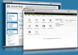 Joomla website CMS