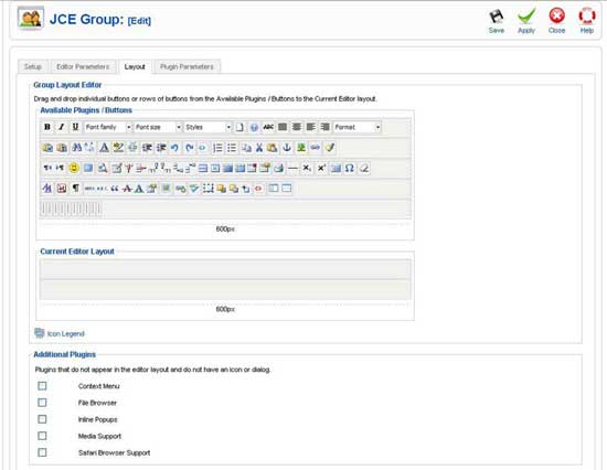 JCE Editor Tutorial – Creating Groups To Restrict Access