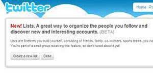 Twitter Lists - Great Way To Follow People or Be Listed On Twitter...