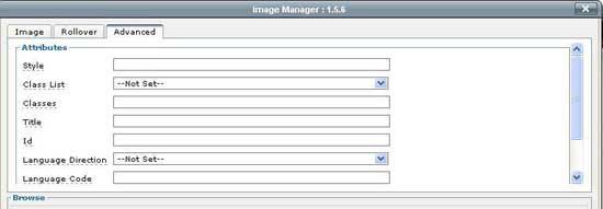 Joomla JCE Editor- Screenshot-tab3