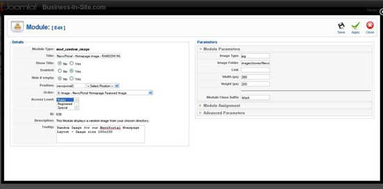 iJoomla NewsPortal Tutorial Screenshot 3