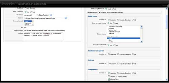 iJoomla NewsPortal Tutorial Screenshot 4