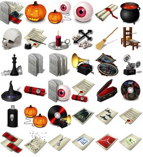 Great Halloween Icons - Halloween Icons Pack