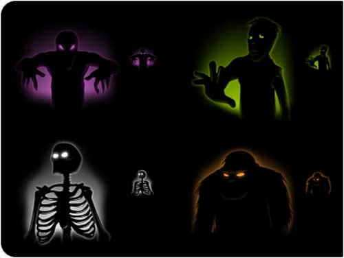 Great Halloween Icons - Creeps Halloween Icons by Anthony Piraino