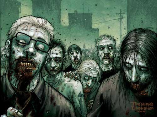 Evil Zombies 2 Halloween Wallpaper