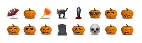 Great Halloween Icons - Halloween Icons Set by Zeus Box