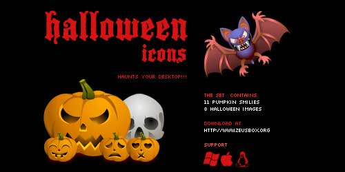 Great Halloween Icons - Halloween icons by ~ncus
