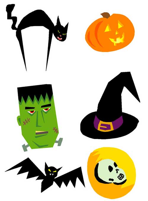 Great Halloween Icons - Halloween Icons by ~Xgirl1251