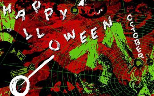 31 October Halloween Wallpaper