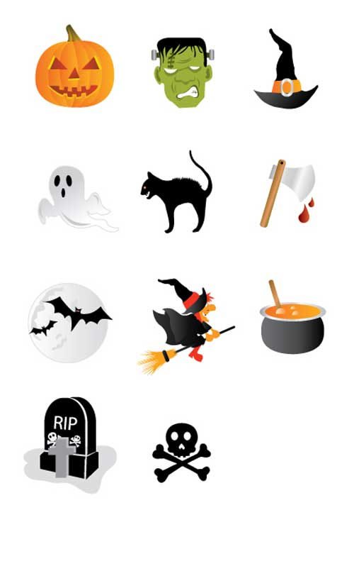 Great Halloween Icons - Halloween Icons Pack by CSS Creme