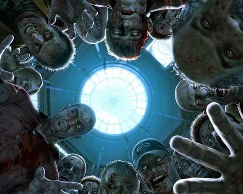 Dark Zombie Halloween Wallpaper
