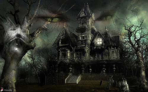Gothic Halloween Wallpaper