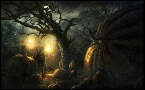 Halloween Wallpaper - Giant Pumpkin