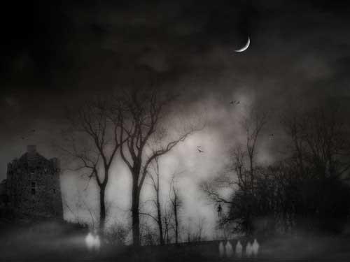 Horror Gothic Halloween Wallpaper