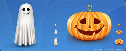 Great Halloween Icons - Lovely Halloween Icons by ArtDesigner.lv