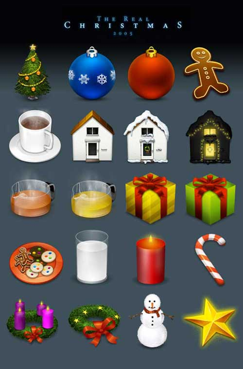 Best Christmas Icons, Wallpapers & Images - The Real Christmas Icons by Enhanced Labs