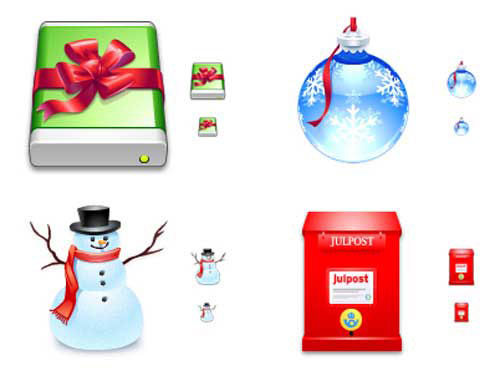 Best Christmas Icons, Wallpapers & Images - World Of Aqua Christmas by Dave Brasgalla