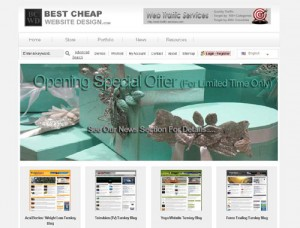 Best Cheap Website Design website screenshot