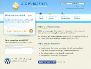 OIO Publisher - Banner & Advertising Management Plugin for WordPress and any other types of Websites (including HTML sites)