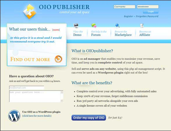 Home business in site oio publisher coupon save 10 with our coupon code for may 2013 fandeluxe Choice Image
