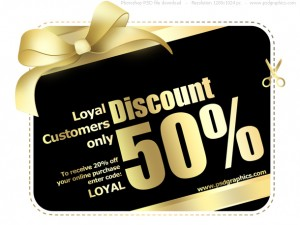 COUPON – Save 50%