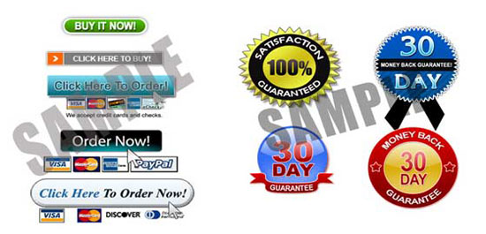 My Sales Letter Graphics Pack
