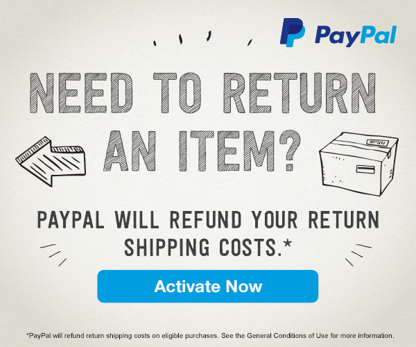 PayPal Refunded Returns Shipping Service
